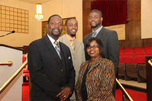 Pastor Jenkins and Family